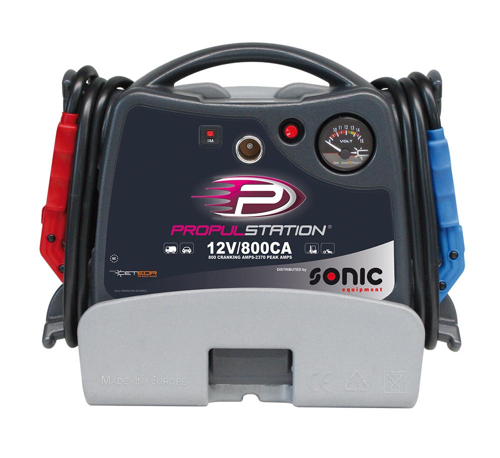 AC 12V 800CA Propulstation met oplaadstation voor garage-thu