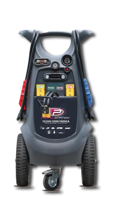 12-24V 3200-1600CA Propulstation mobile voor garage