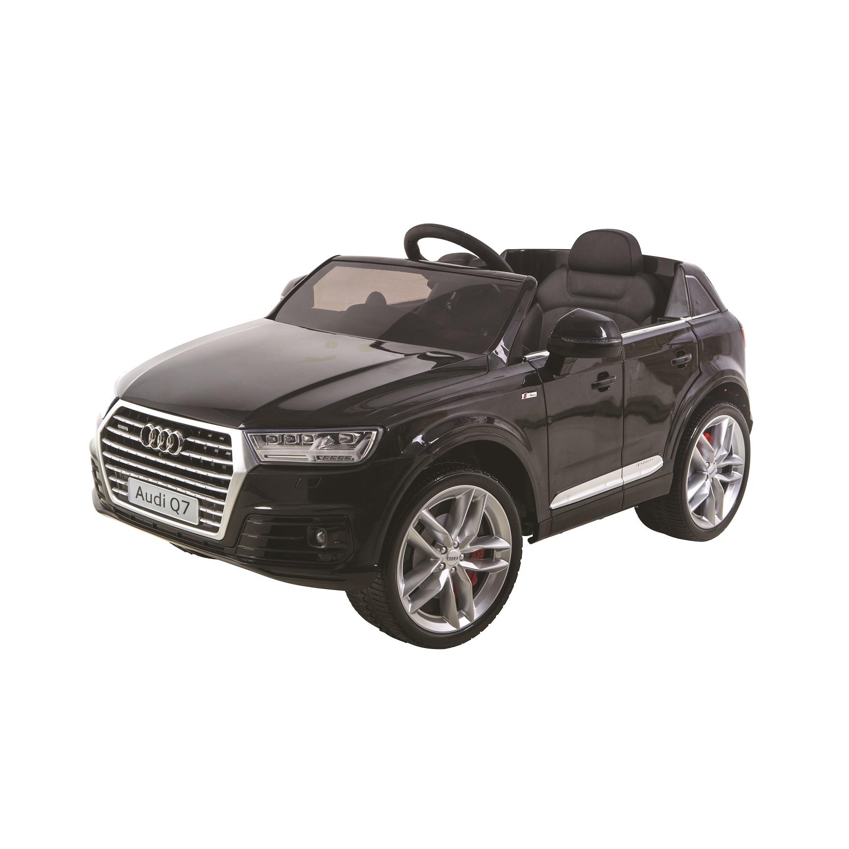 Accu-Auto Audi Q7 Zwart 12V incl. MP3 en afstandsbediening vanaf 3 jaar