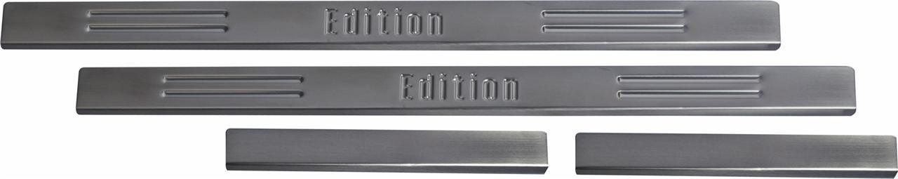 RVS Instaplijsten Kia Cee'd 5-deurs 2007-2012 - 'Edition' - 4-delig
