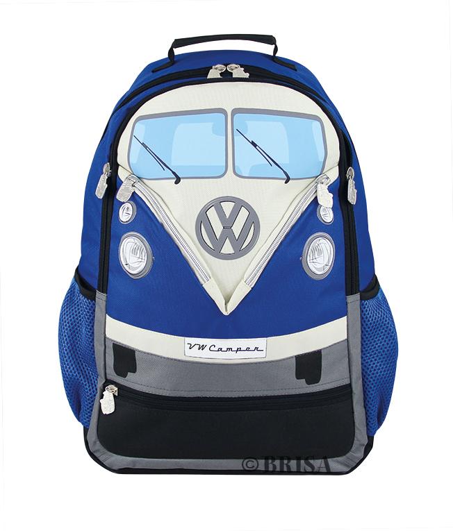VW T1 Rugzak Blauw -Large-
