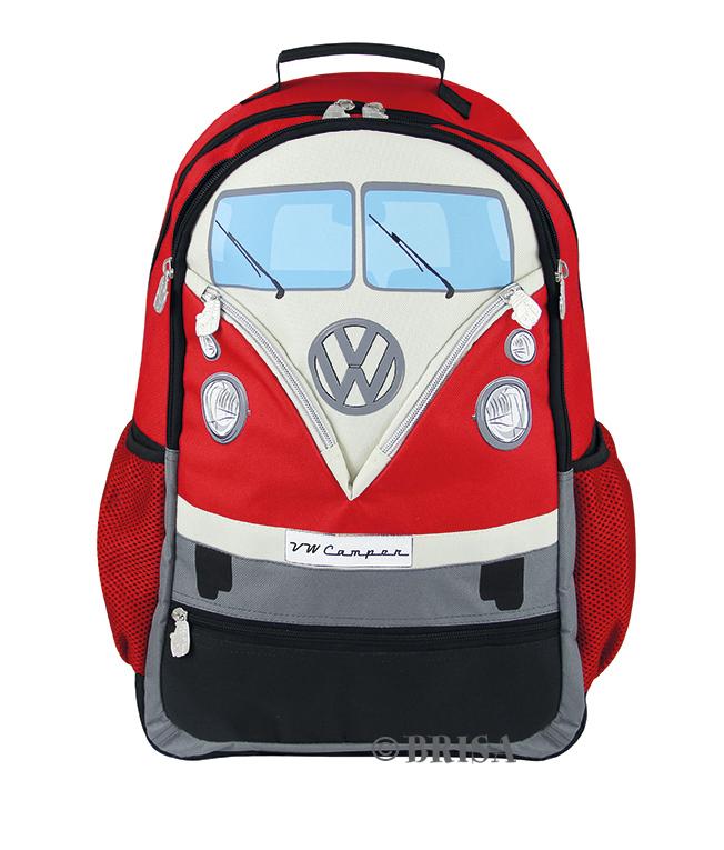 VW T1 Rugzak Rood -Large-