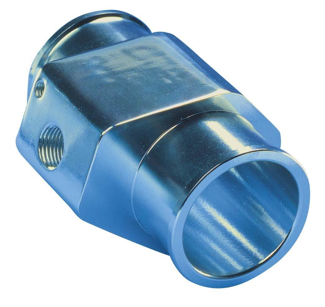 T-adapter 30mm Blue for watertemp.