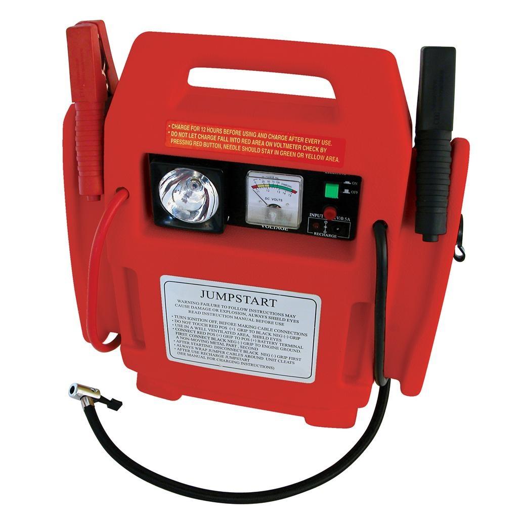 Jumpstarter 900A-12V met compressor