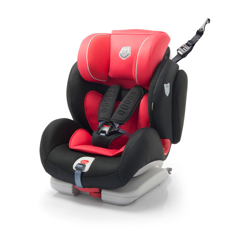 Autostoel Penta Fix Rood-Zwart