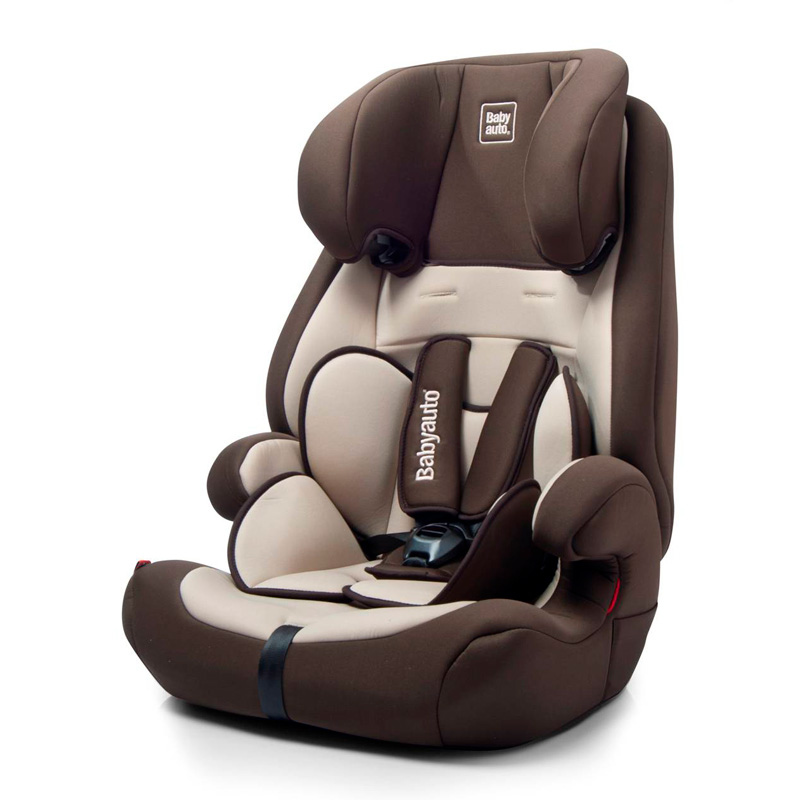 Autostoel Ziti Bruin-Beige