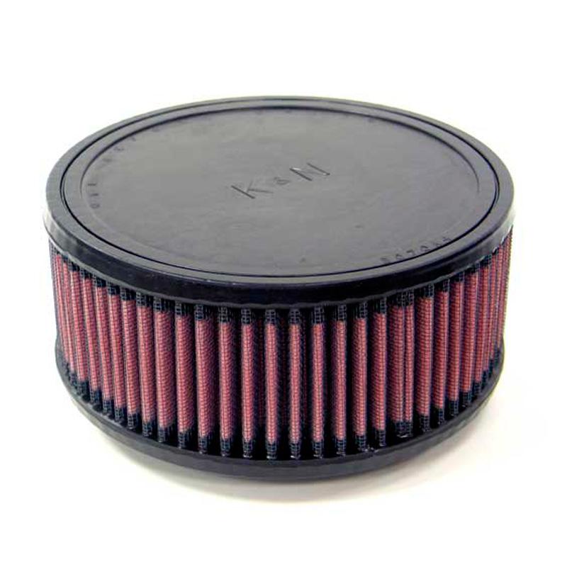 K&N universeel vervangingsfilter Cilindrisch 70 mm (RU-0980)