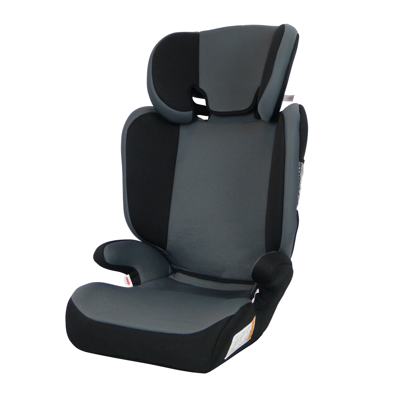 Autostoel Lars zwart-grijs