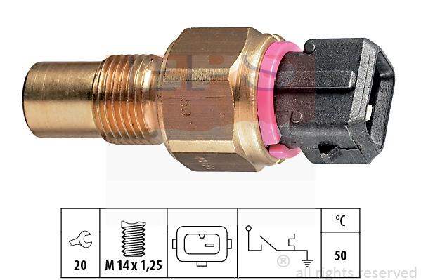 EPS Facet Temperatuurschakelaar, koelmiddelwaarschuwingslamp 1840088