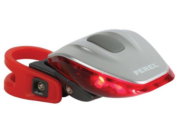 Fietsachterlicht 6 rode leds 270° zichtbaarheid