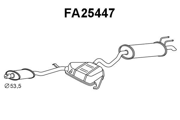 Einddemper Fiat