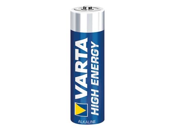 HIGH-ENERGY ALKALINE AA / LR6 1.5V-2600mAh 4906.801.354 (4 st./krimp)