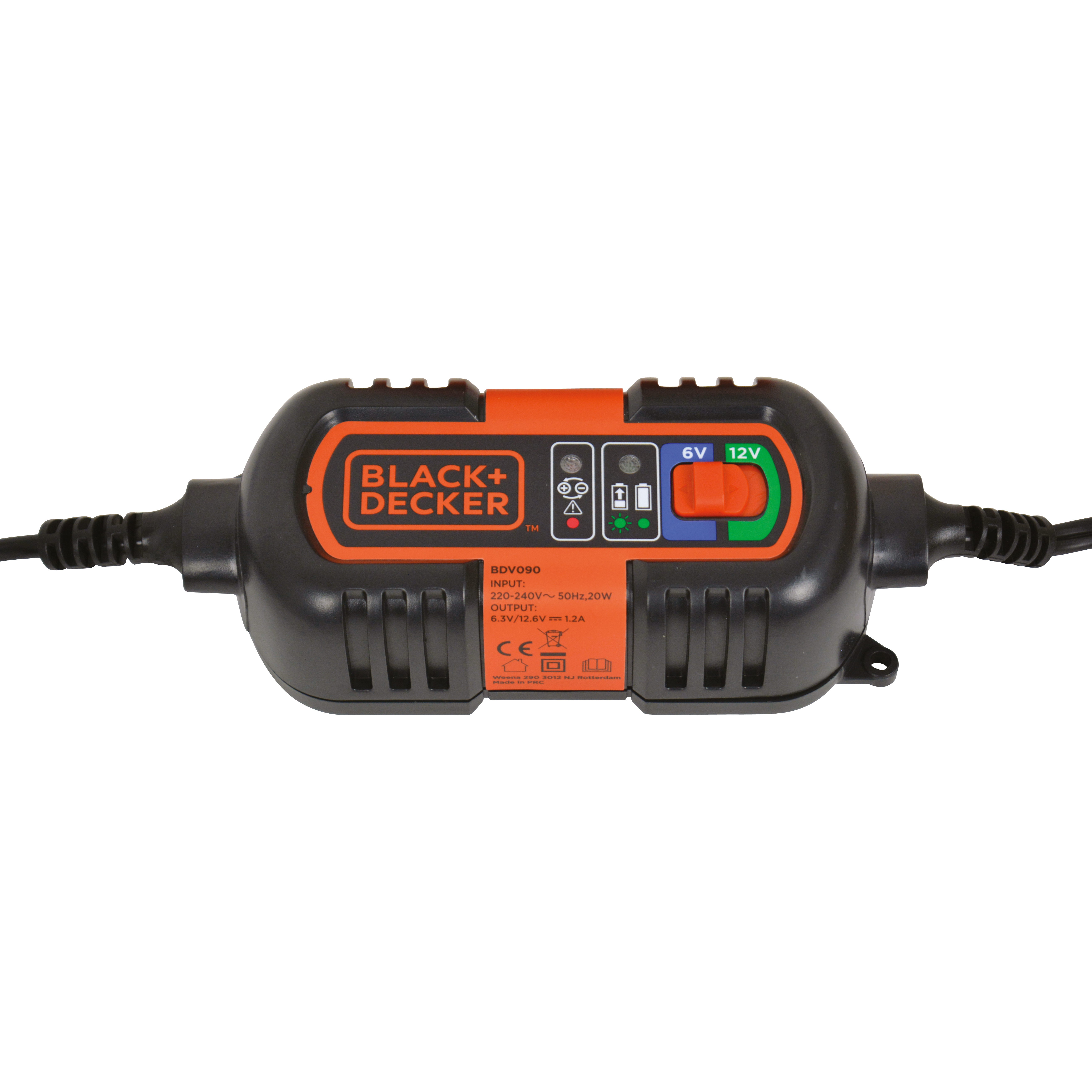 Black&Decker BDV090 Acculader 6V & 12V