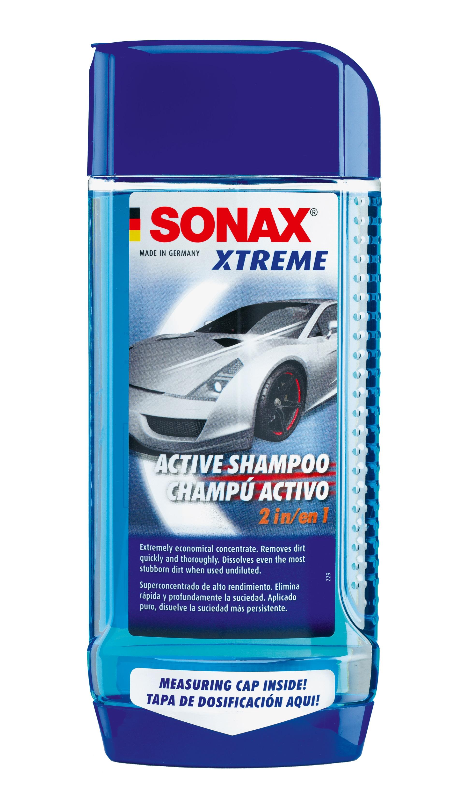 Sonax 214.200 eXtreme Shampoo 2 in 1 500ml