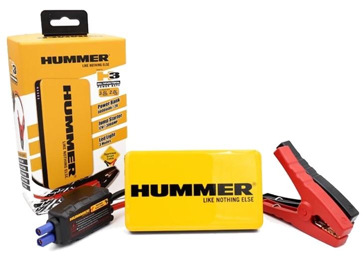 Hummer H3 Mini Jumpstarter-Lader 6.000mAH+LED Lamp