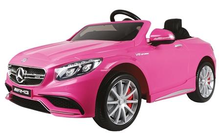 Accu auto Mercedes-Benz S63 Roze