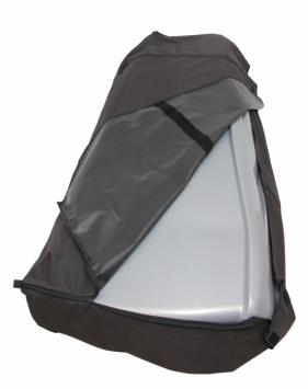Cover-It dakkoffer beschermhoes XL-Zwart