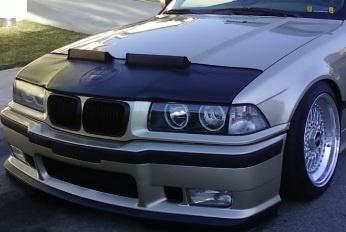 Motorkapsteenslaghoes BMW M3 E36 1996-1999 zwart