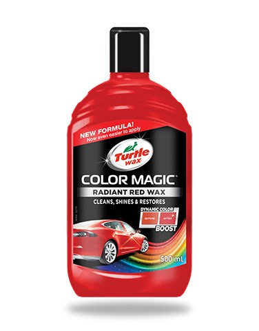 Turtle Wax Color Magic Radiant Red 500ml