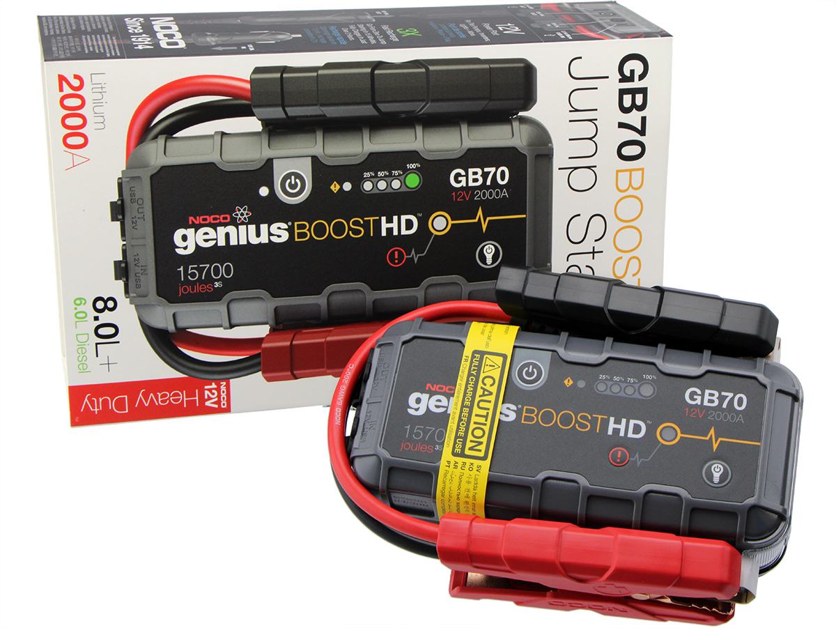 Noco Genius Battery Booster GB70 12V 2000A