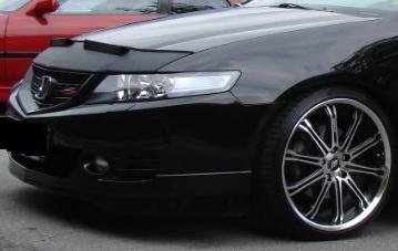 Motorkapsteenslaghoes Honda Accord 2003-2006 zwart