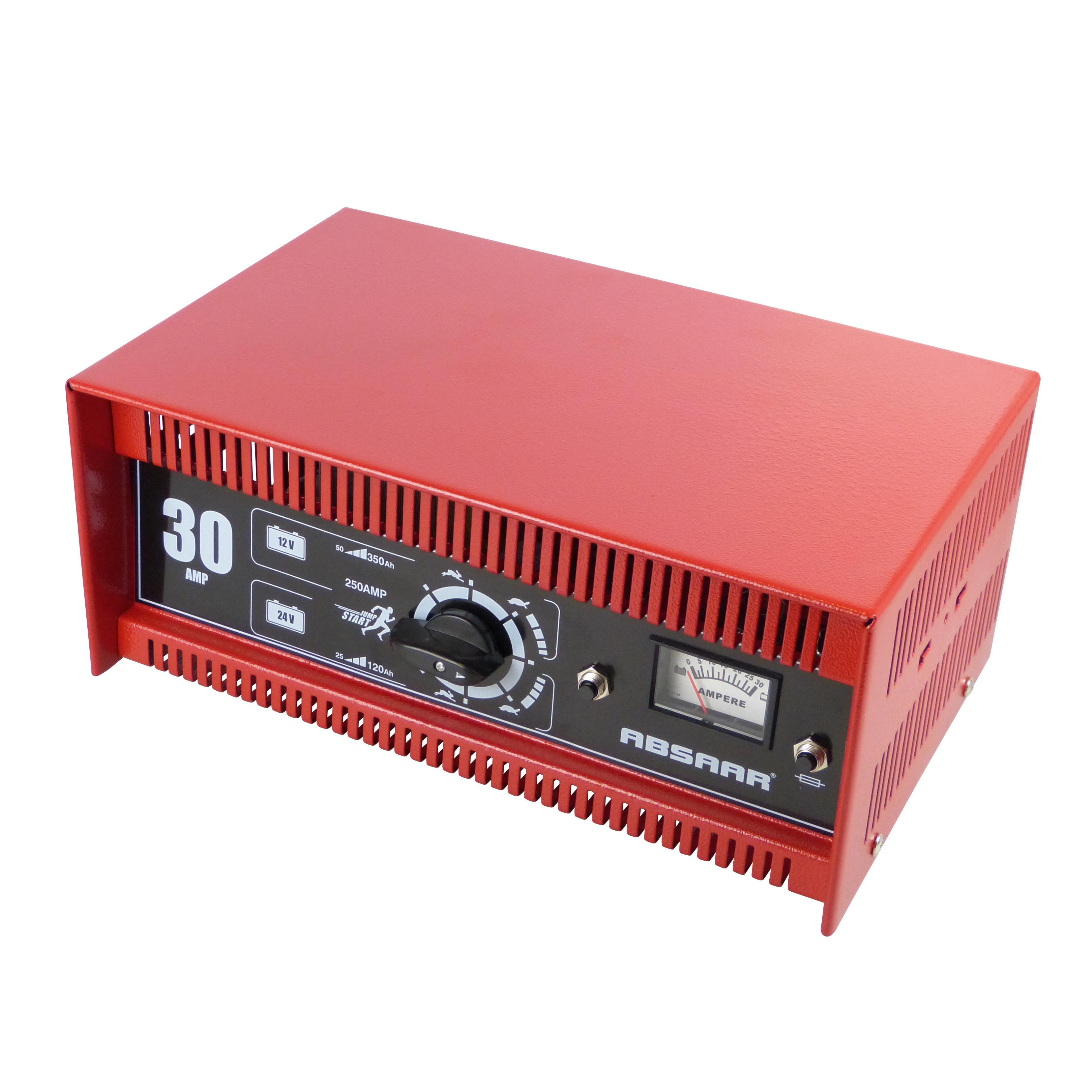 Absaar Acculader 30AMP 12-24V N-E Amp