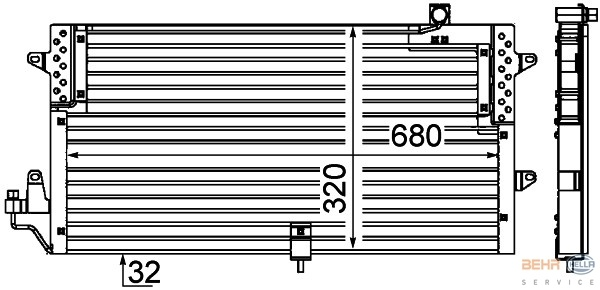 Condensator, airconditioning