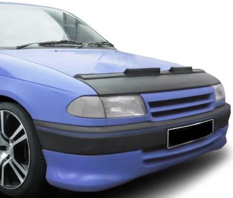 Motorkapsteenslaghoes Opel Astra F 1992-1998 carbon-look