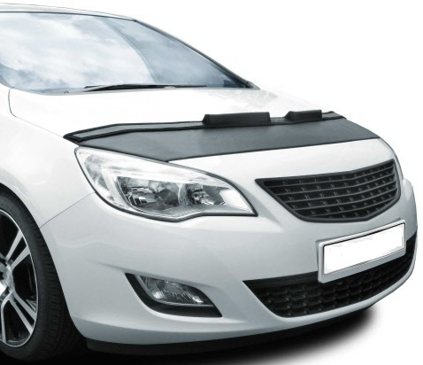 Motorkapsteenslaghoes Opel Astra J 2009- zwart