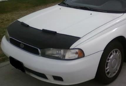 Motorkapsteenslaghoes Subaru Legacy 1995-1998 carbon-look