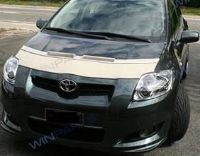 Motorkapsteenslaghoes Toyota Auris 2006- carbon-look