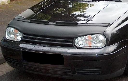 Motorkapsteenslaghoes Volkswagen Golf IV + R32 1998-2003 carbon-look