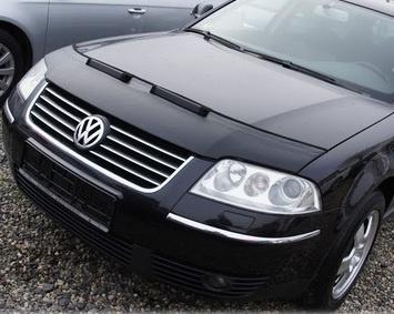 Motorkapsteenslaghoes Volkswagen Passat 3BG 2001-2004 zwart