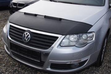 Motorkapsteenslaghoes Volkswagen Passat 3C 2005- carbon-look