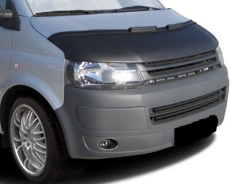 Motorkapsteenslaghoes Volkswagen Transporter T5 facelift 2010- carbon-look