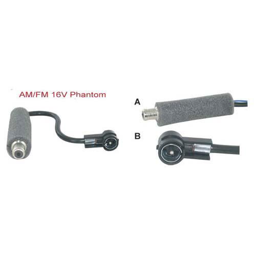 AM-FM 16V Phantom antenne adapter