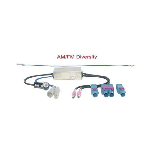 AM-FM Diversity antenne adapter actief