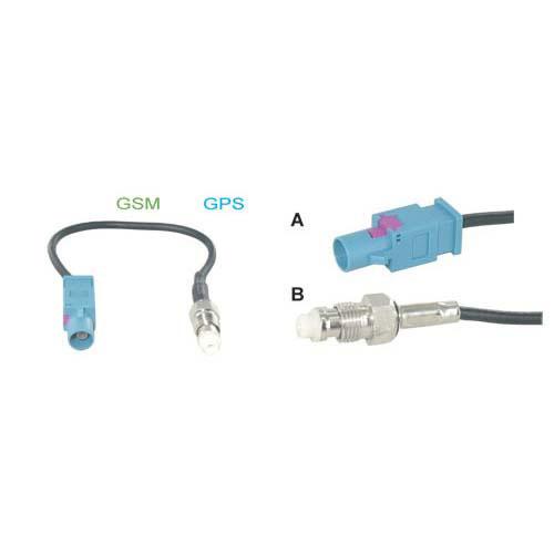 GSM- GPS Fakra adapter