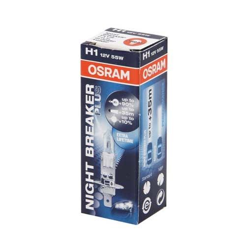 Osram Night Breaker Plus 12V H1 55W
