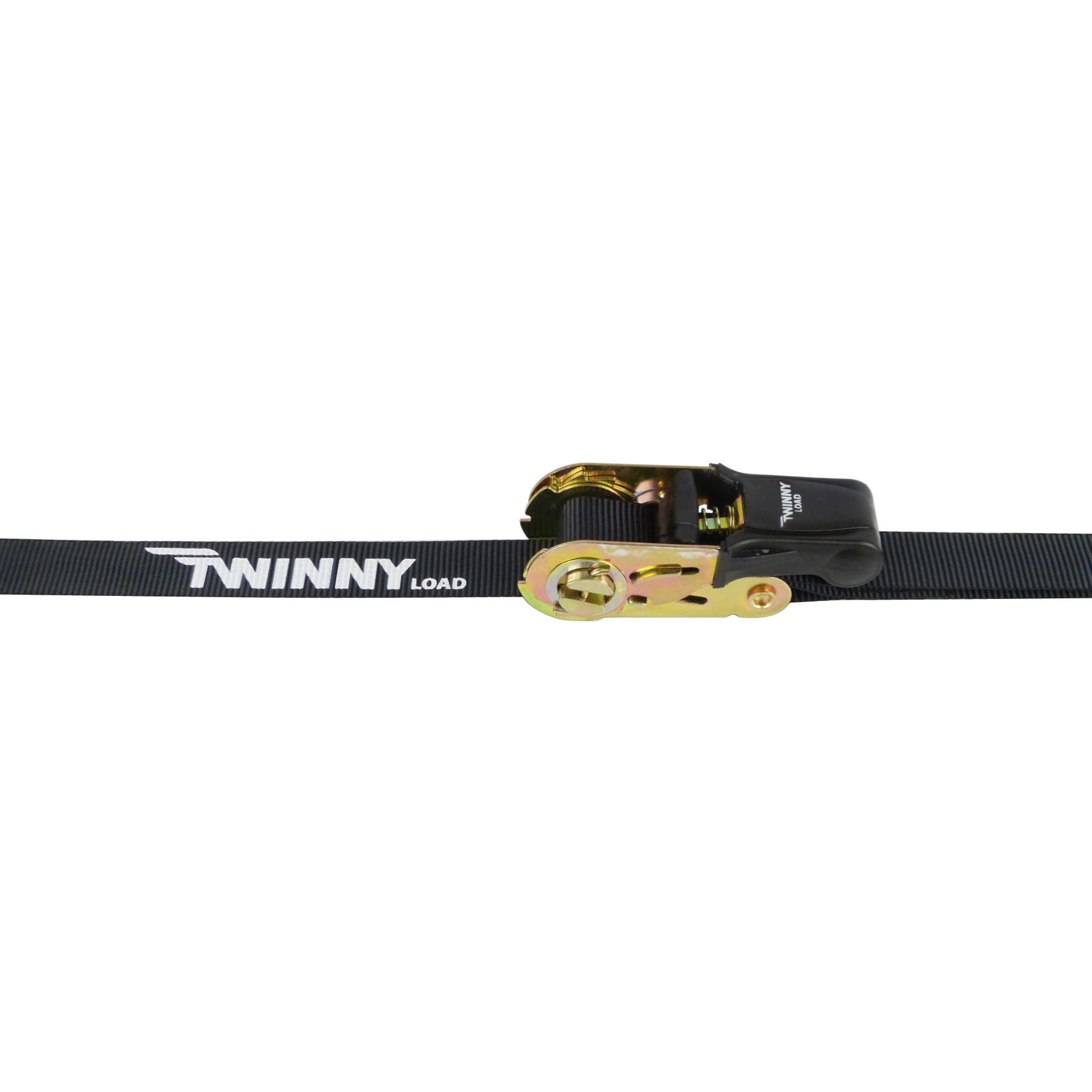Twinny Load 627998026 Spanband met haak 25mm x 5m
