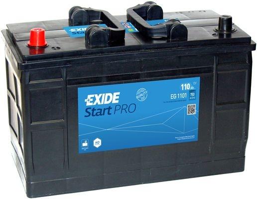 Exide Accu Start Pro EG1101 110 Ah EG1101