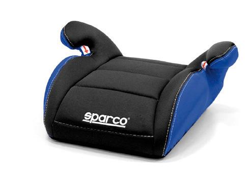 Sparco zitverhoger F100 Zwart-Blauw 15 tot 36 kg, 4 t-m 12 jaar (E1)