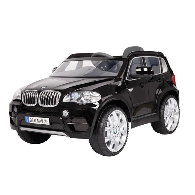 Accu Auto BMW X5 zwart met afstandsbediening