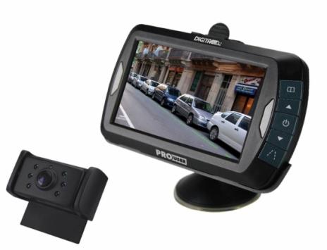 Digitaal draadloos achteruitrijcamera systeem 4,3 inch IR