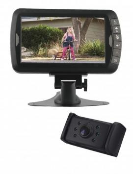 Digitaal draadloos achteruitrijcamera systeem 7 inch IR