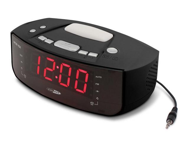 Digitale PLL FM wekkerradio met AUX-in en ontwaak--nachtlamp