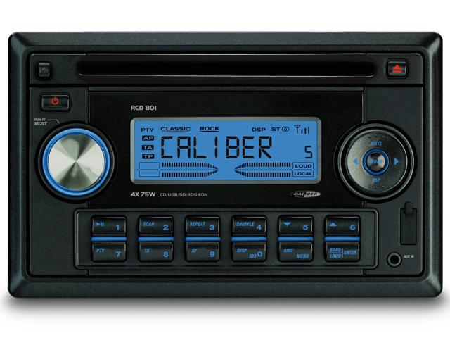 CD-USB-SD FM-AM Tuner en AUX-Ingang