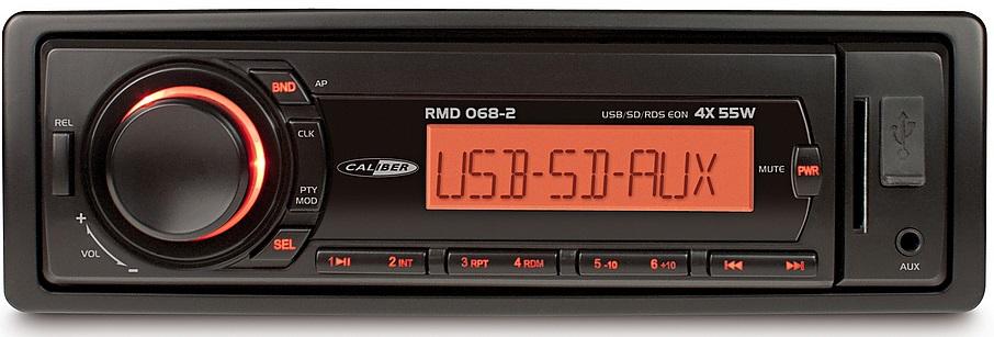 FM tuner met USB poort, SD kaartlezer en AUX-Ingang (zonder CD speler)
