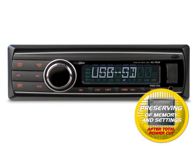 USB-SD FM-AM Tuner en AUX-input (zonder CD speler)
