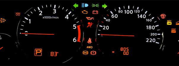 Wat betekenen de dashboard lampjes?
